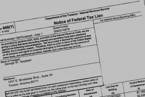 Notice of Filing of Tax Lien